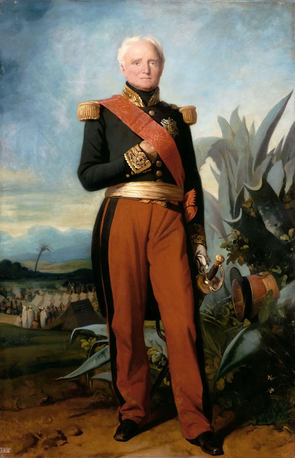 Marshal Thomas Bugeaud (1784-1849), duc d'Isly, maréchal de France